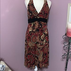 R & K original halter dress